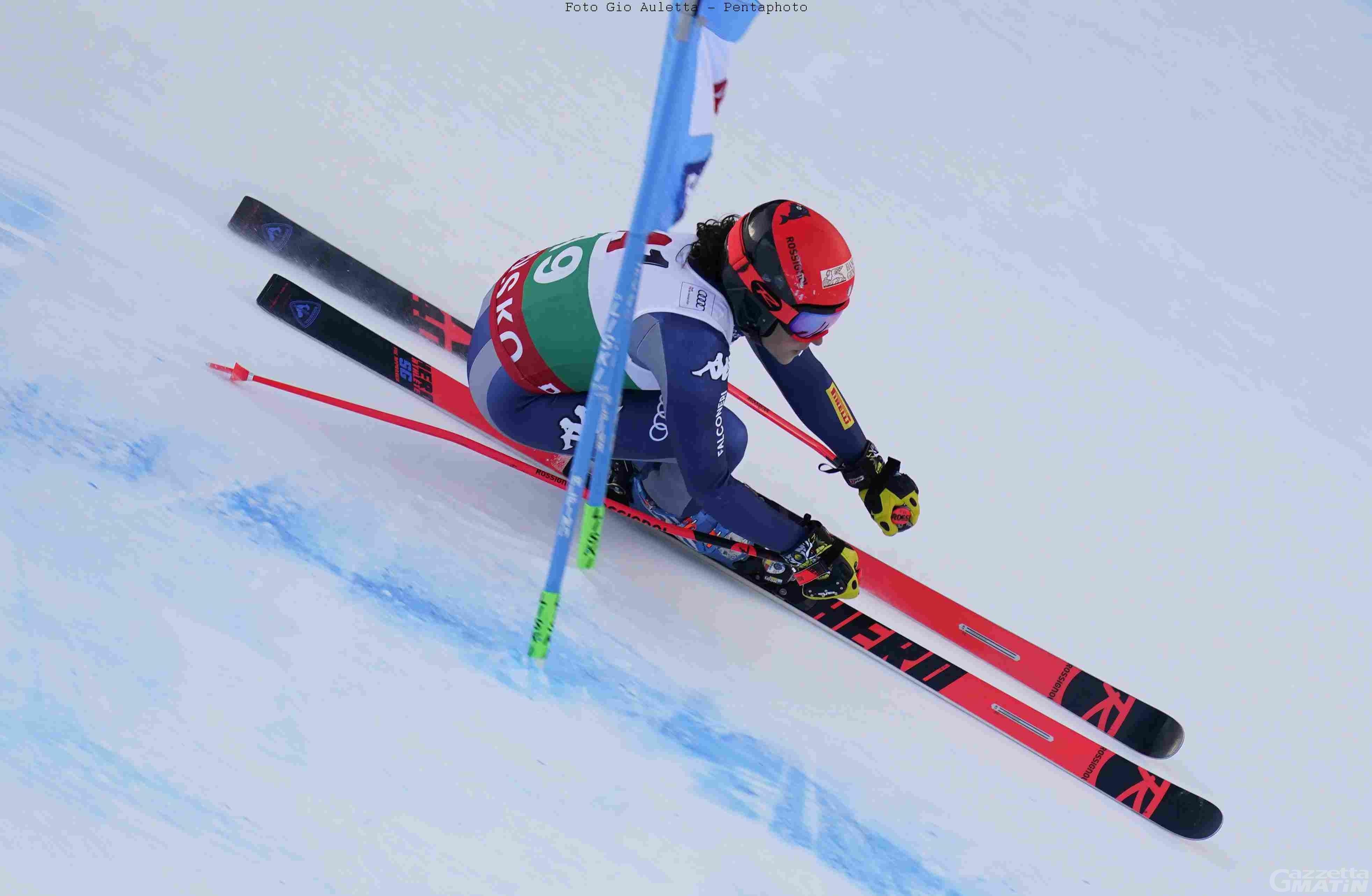 Sci alpino: Federica Brignone sfortunata a Bansko