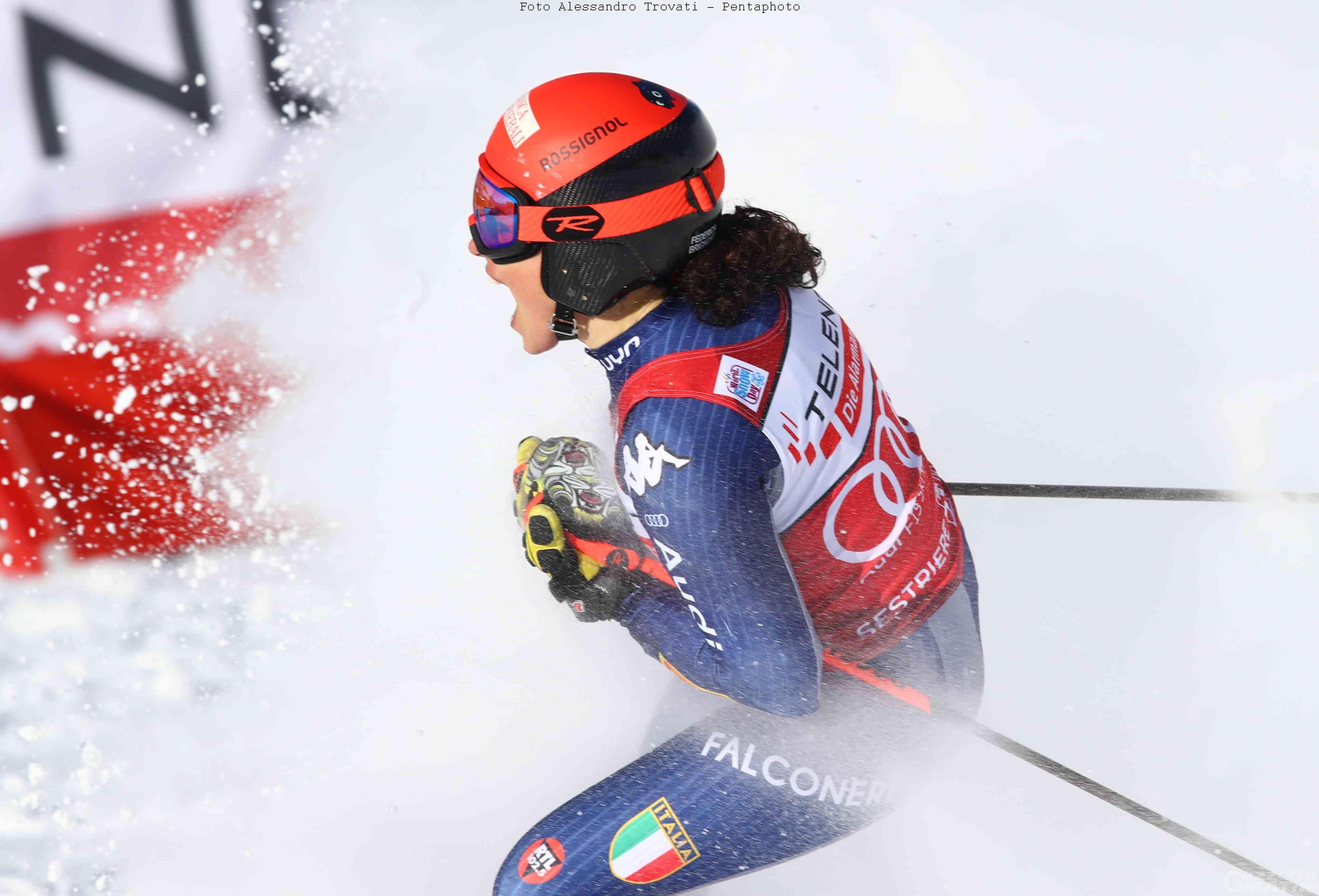 Sci alpino: Federica Brignone trionfa a Sestriere