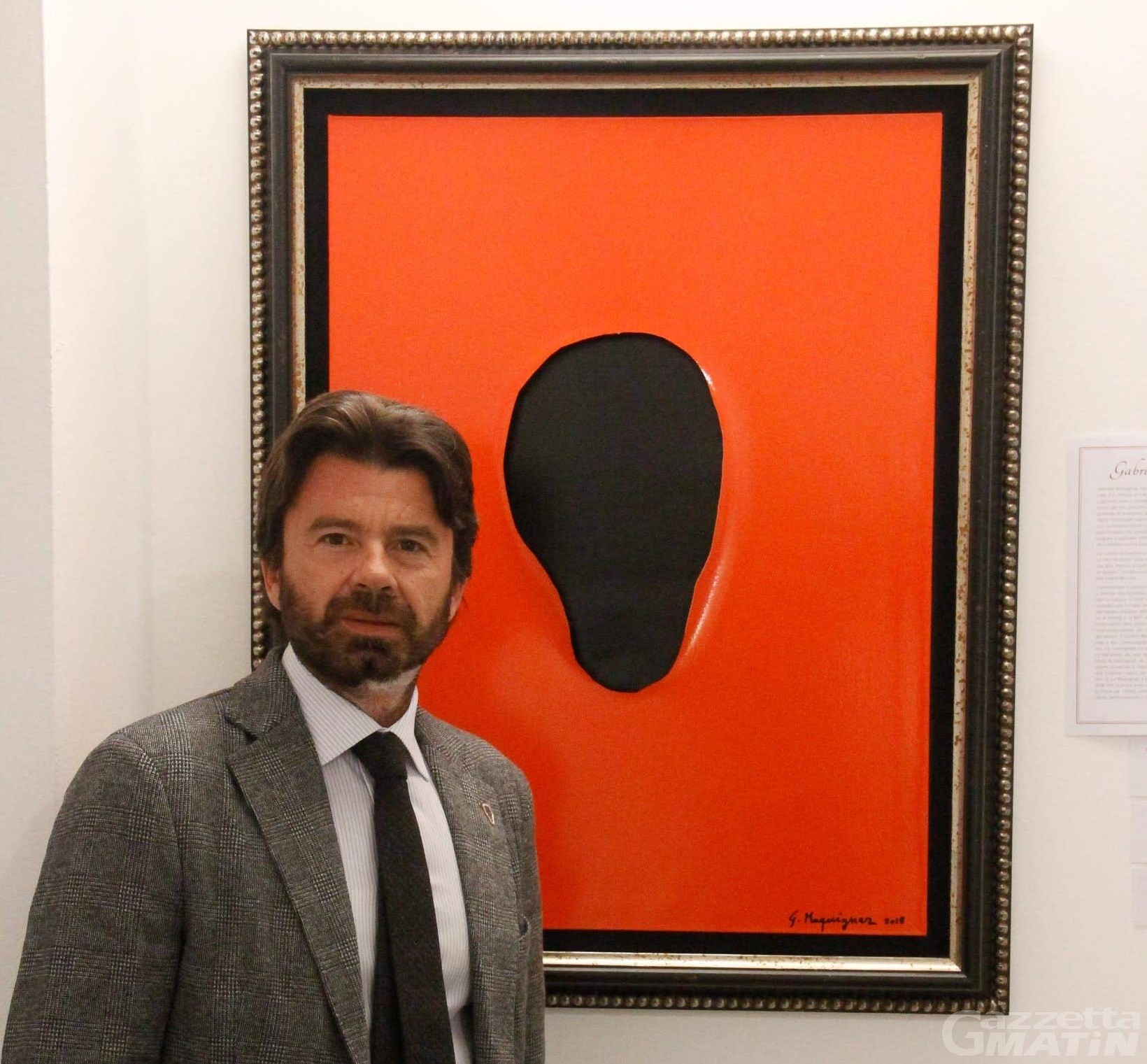 Arte: Gabriele Maquignaz presenta il catalogo La Porta dell'Aldilà