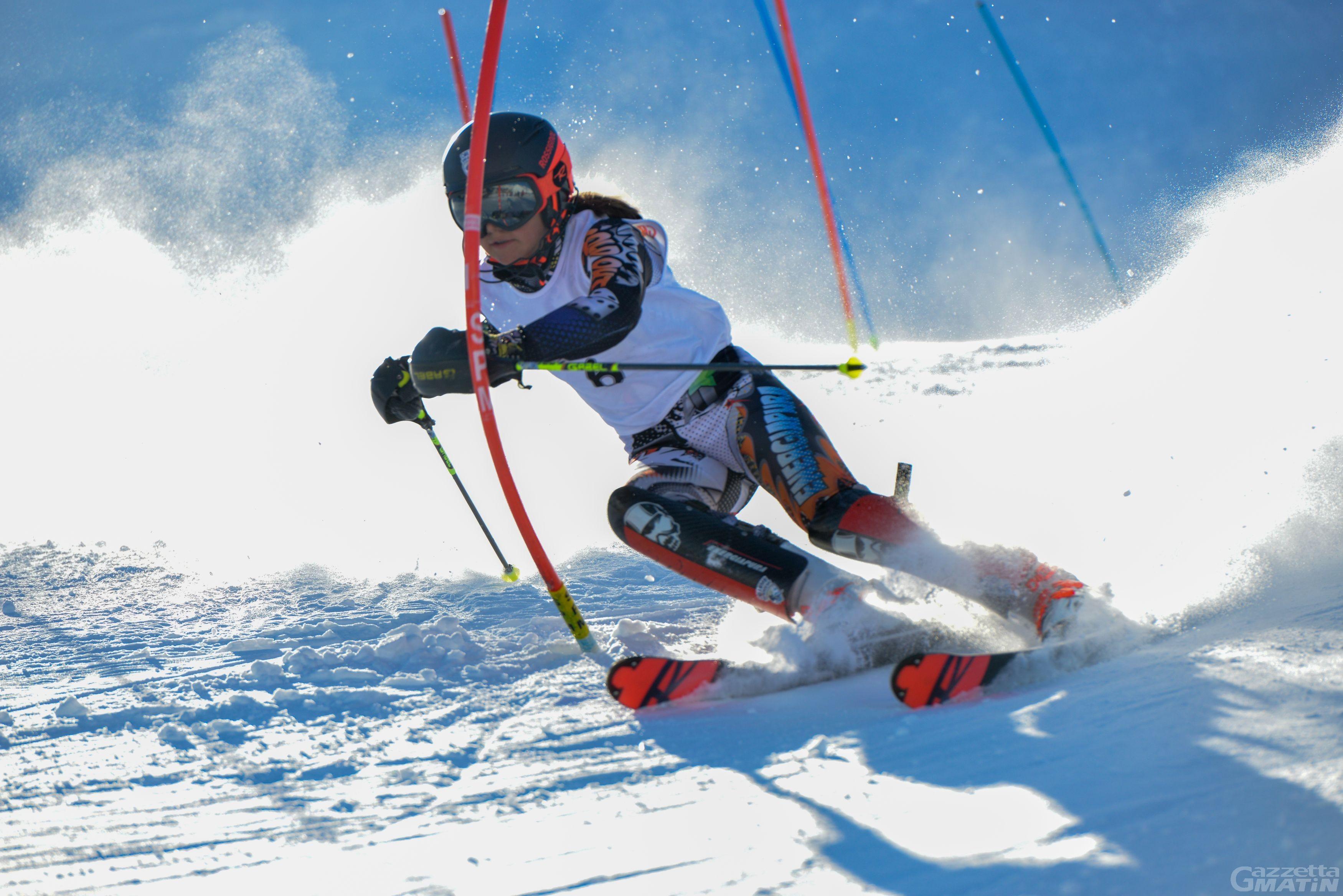 Sci alpino: Giorgia Collomb incanta nell'Alpe Cimbra