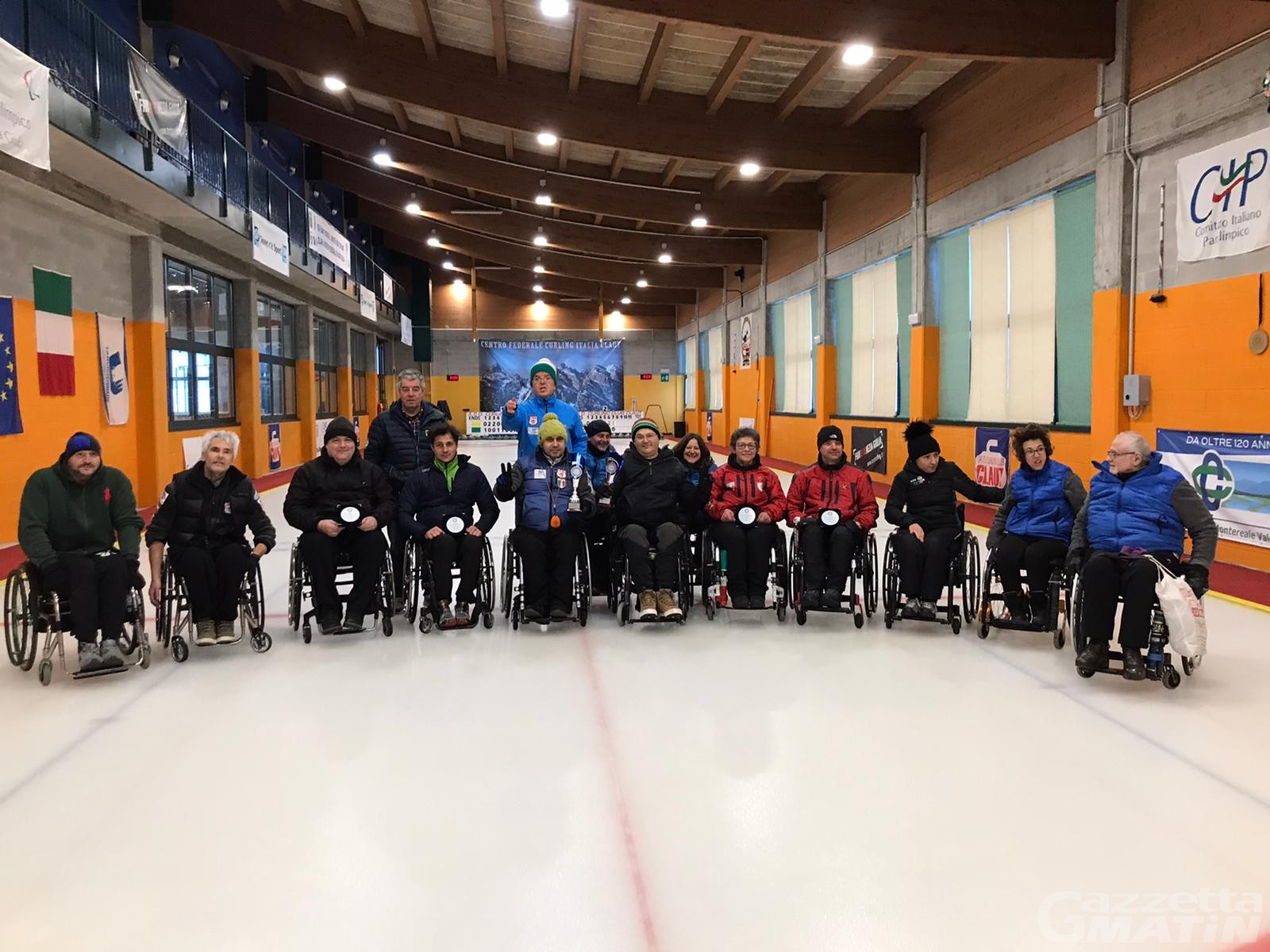 Wheelchair Curling: Marchese e De Florian vincono