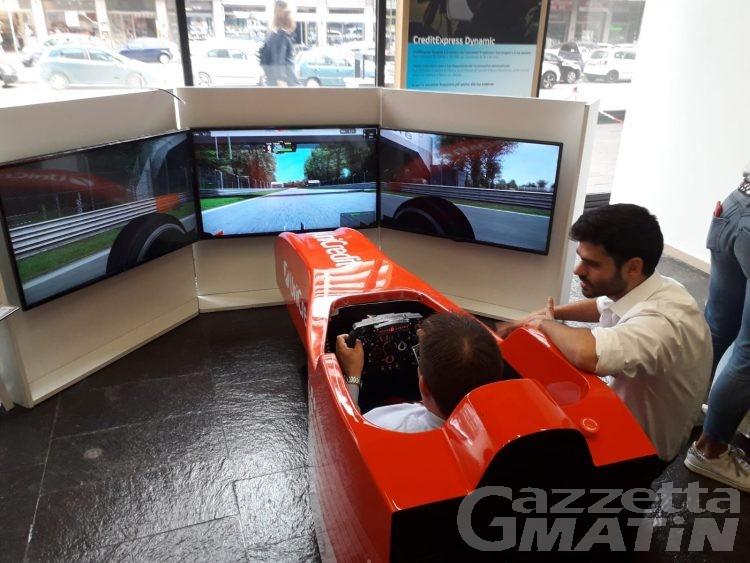 Safety Drive Tour: arriva ad Aosta il simulatore di Formula 1