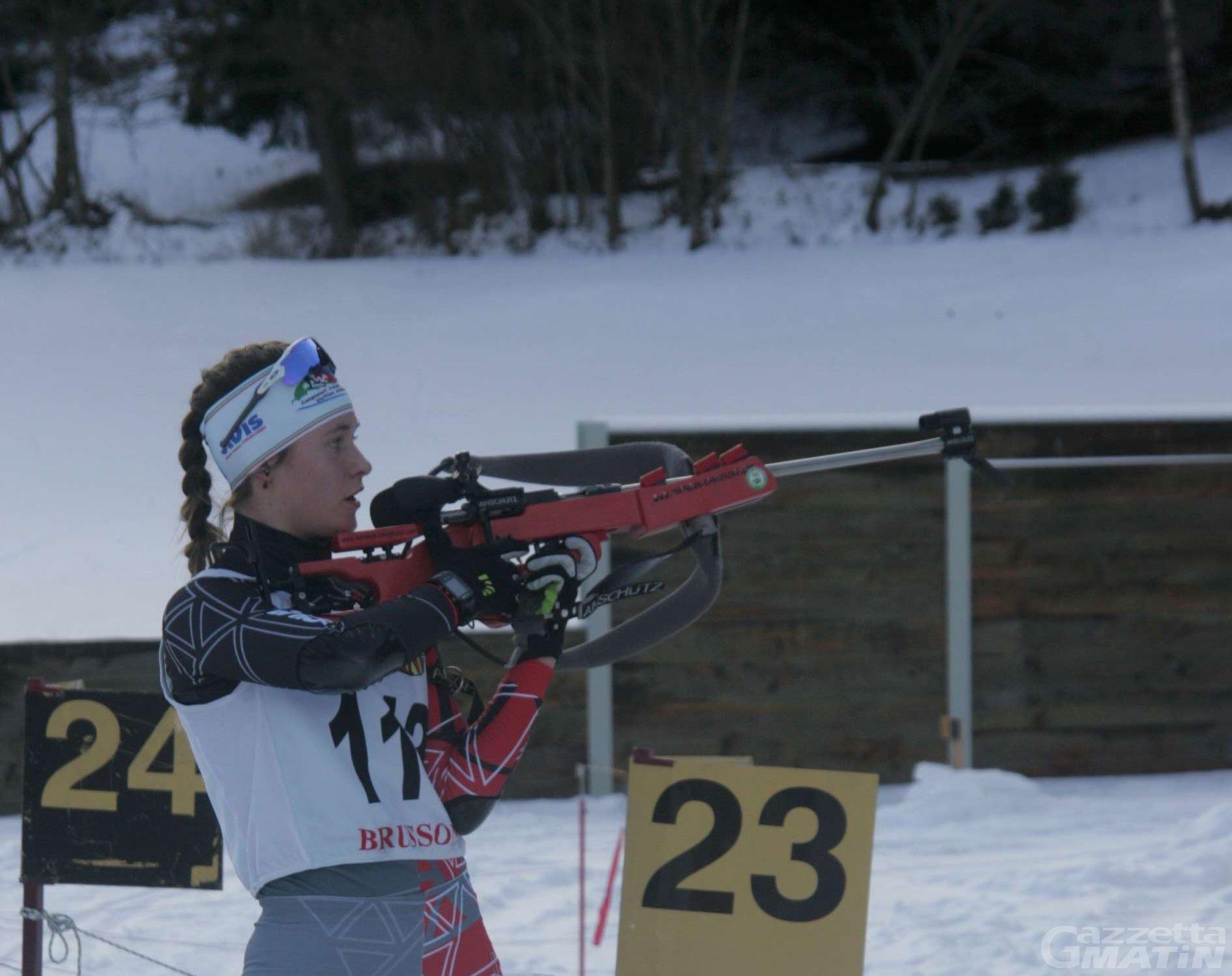 Biathlon: sei valdostani ai Mondiali Juniores e Giovani