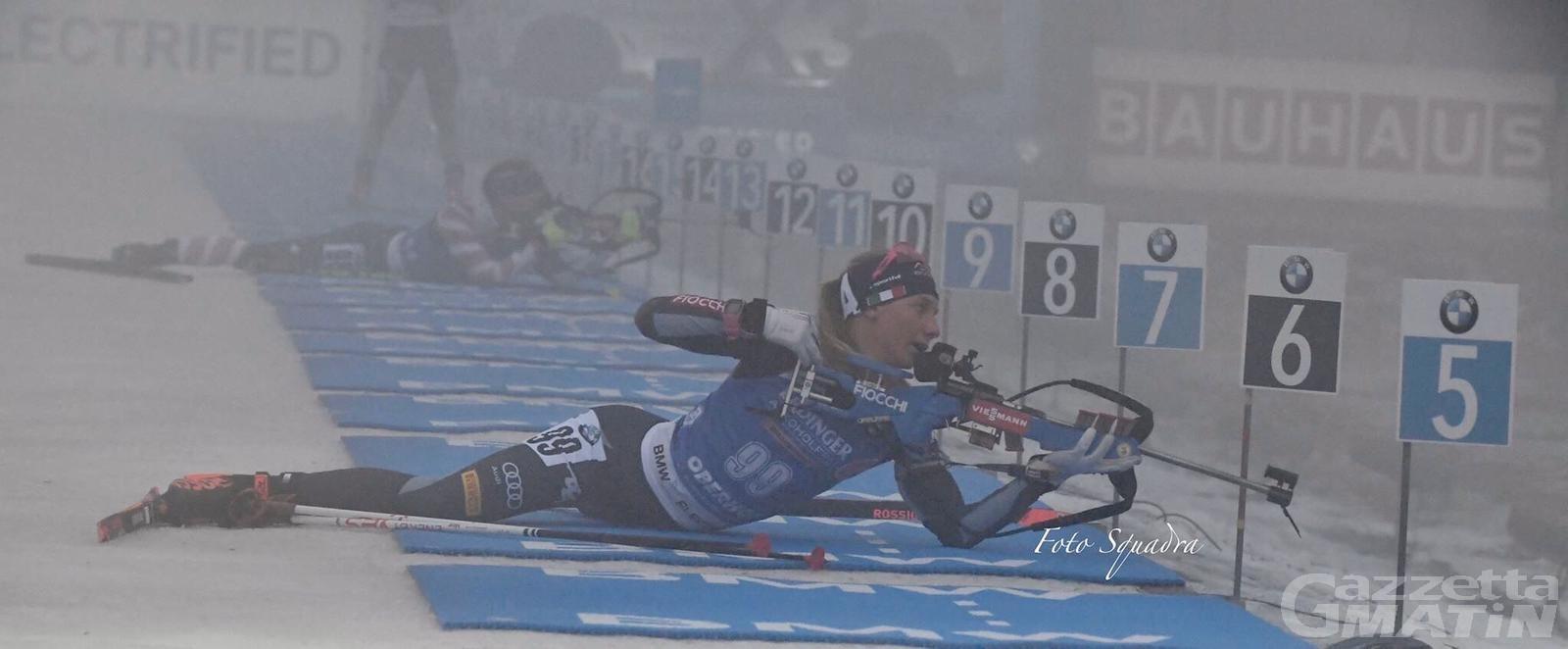 Biathlon: terza chiamata in Coppa del Mondo per Michela Carrara