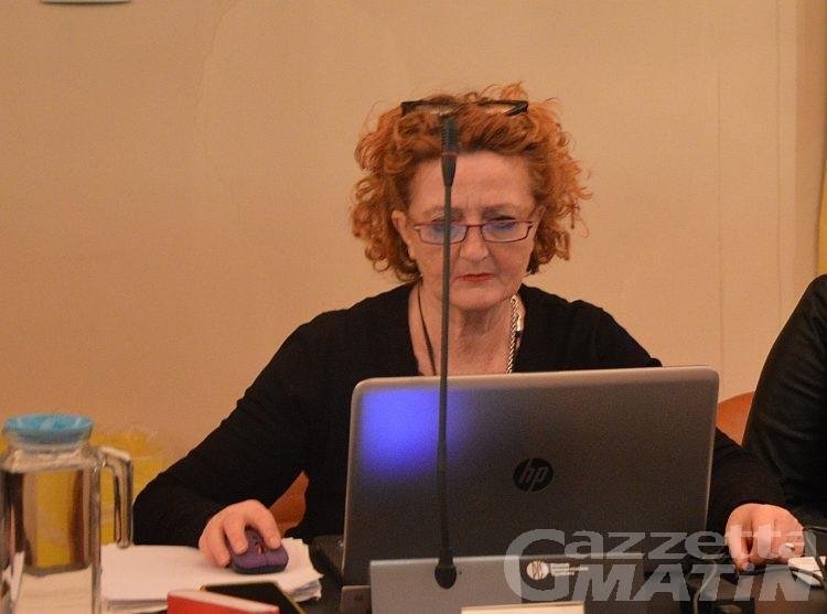 Geenna: Patrizia Pradelli lascerà l'aula nel prossimo Consiglio di Aosta