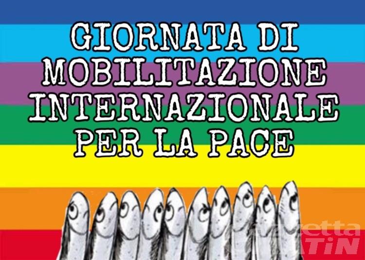 Aosta: Sardine e Legambiente in piazza per la pace e per l'ambiente