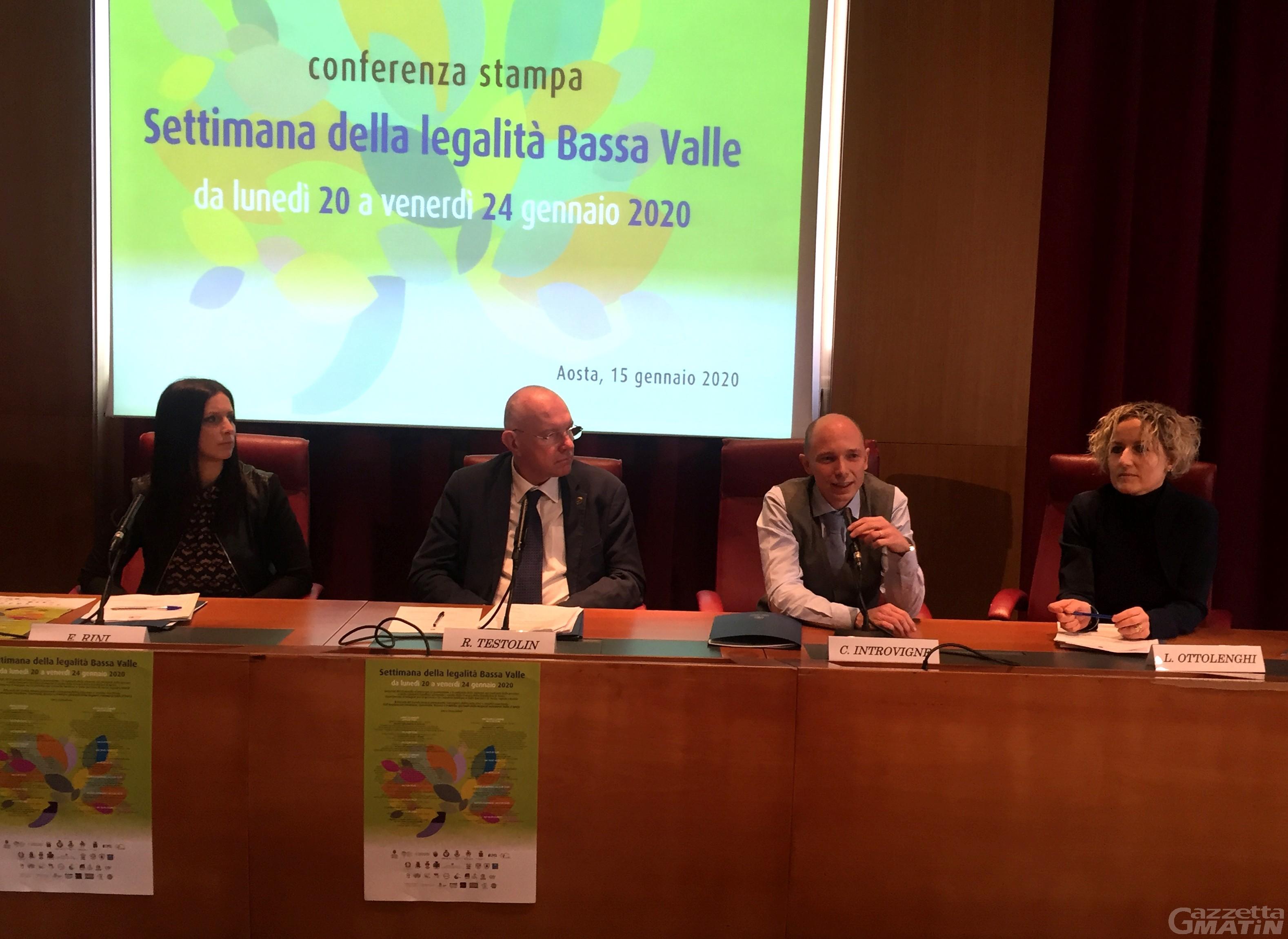 Legalità: la Costituzione ispira la Settimana della Bassa Valle per 1200 studenti
