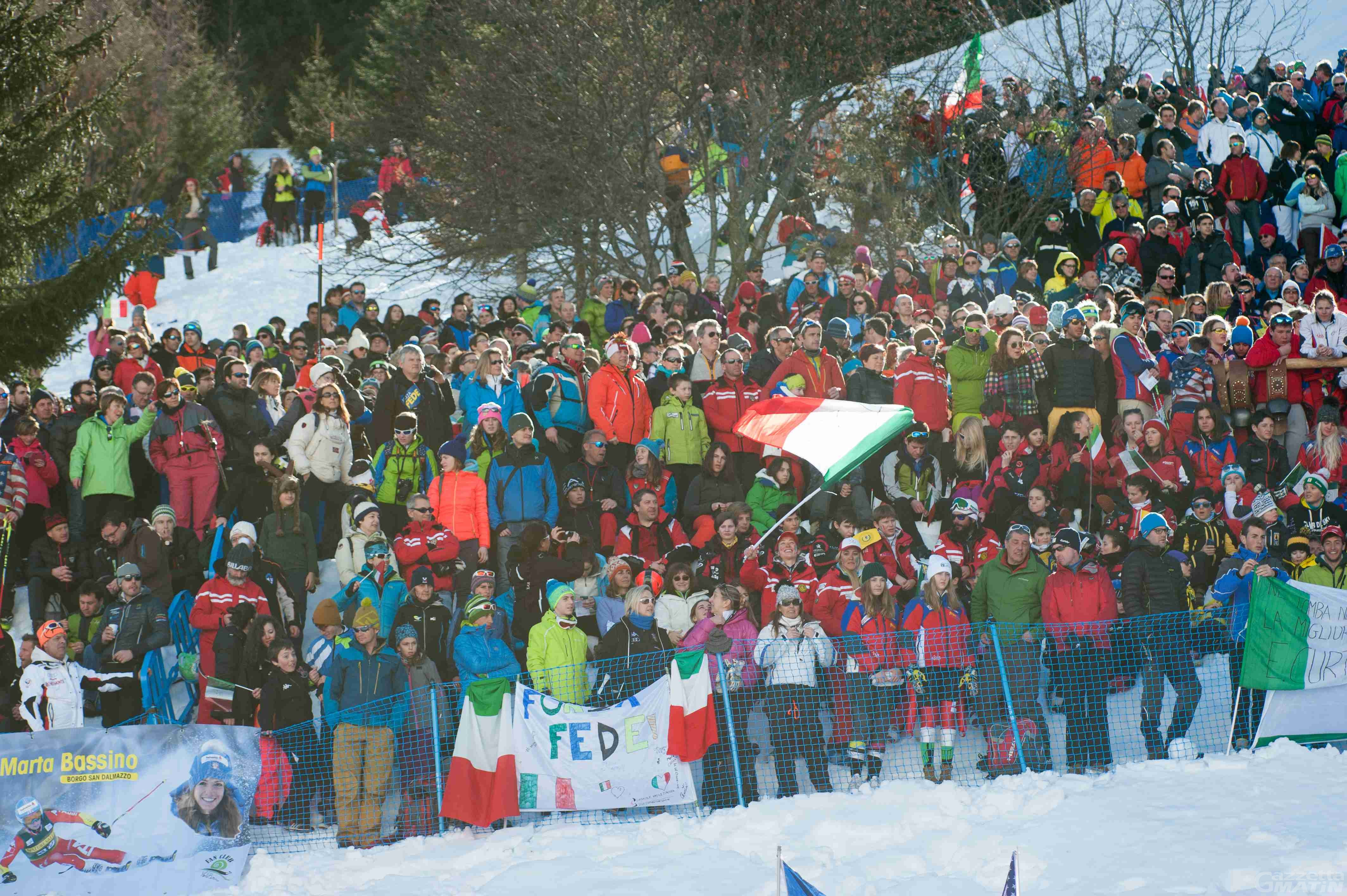 Coppa del Mondo di sci: a La Thuile solo spettatori con biglietto