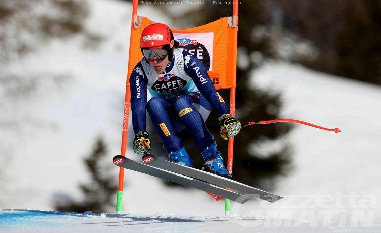 Sci alpino: Federica Brignone 7ª nella libera di Crans Montana