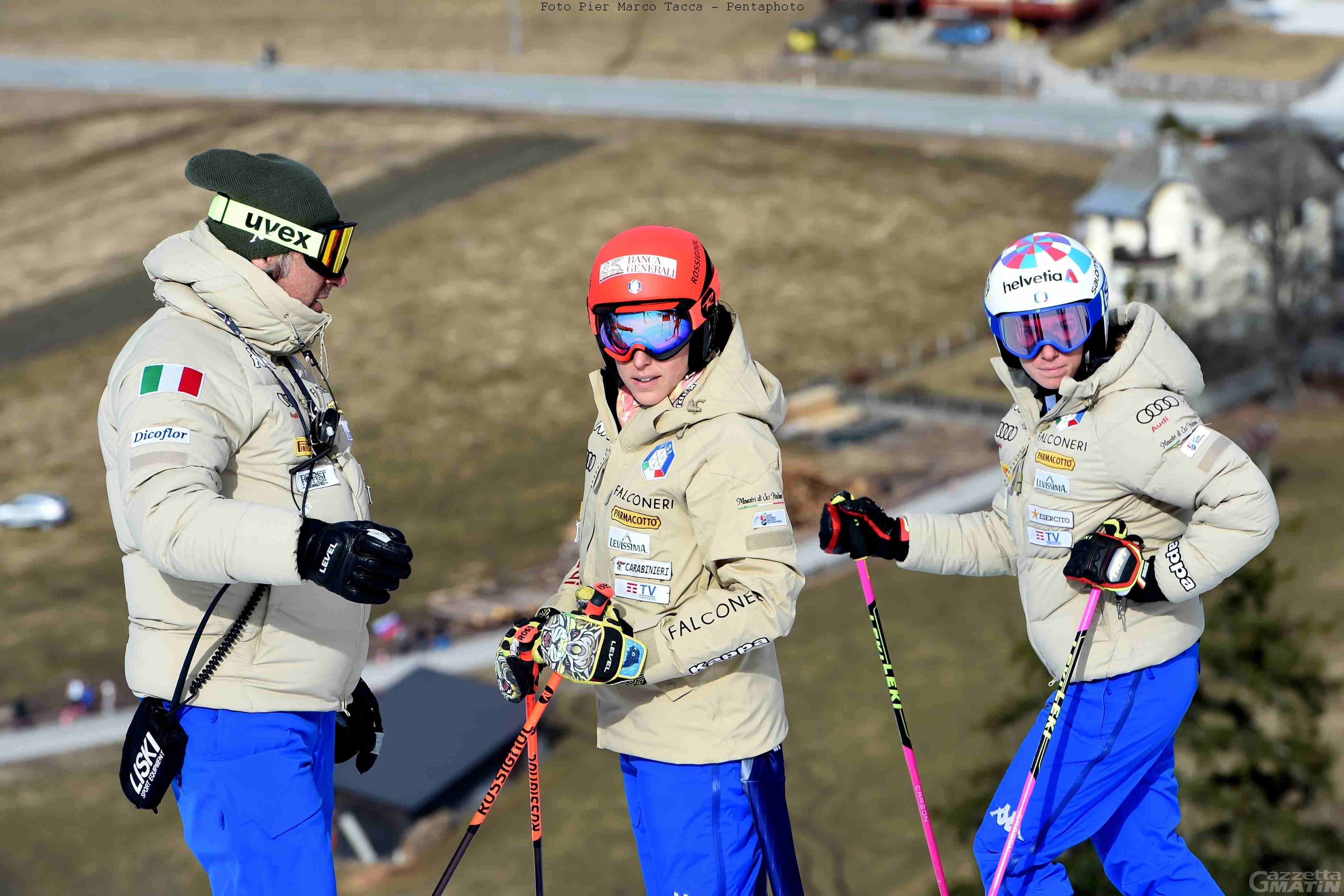 Sci alpino: Federica Brignone ottava a Kranjska Gora