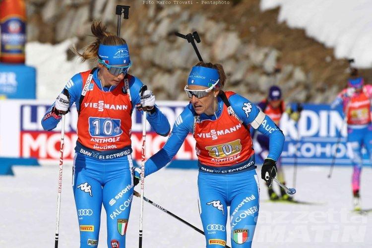 Biathlon Italia Decima Nella Staffetta Femminile Iridata News Vda Gazzetta Matin