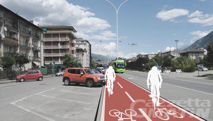 Mobilità sostenibile: progetto pronto e sito on line per 'Aosta in bicicletta'