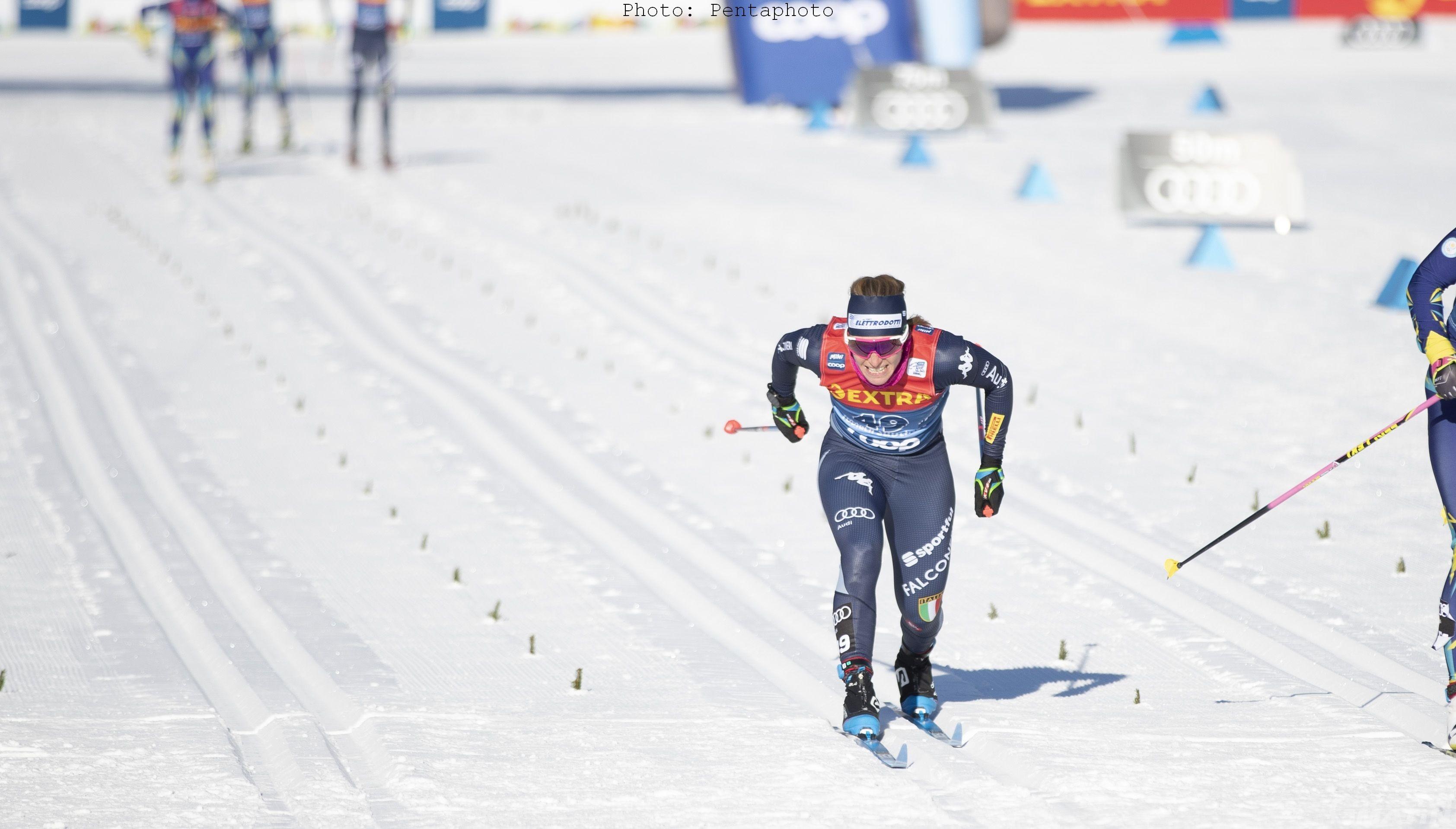 Fondo: Pellegrino, De Fabiani, Laurent e Brocard al via del Tour de Ski