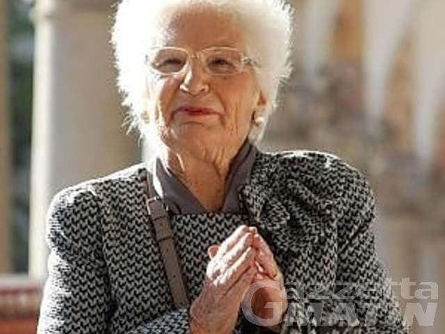 Appello delle Sardine: cittadinanza onoraria a Liliana Segre in tutti i comuni della Valle d'Aosta