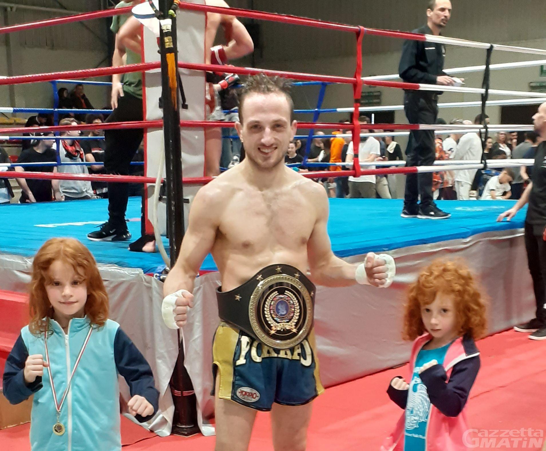 Muay Thai: Mike Astarita si conferma campione europeo