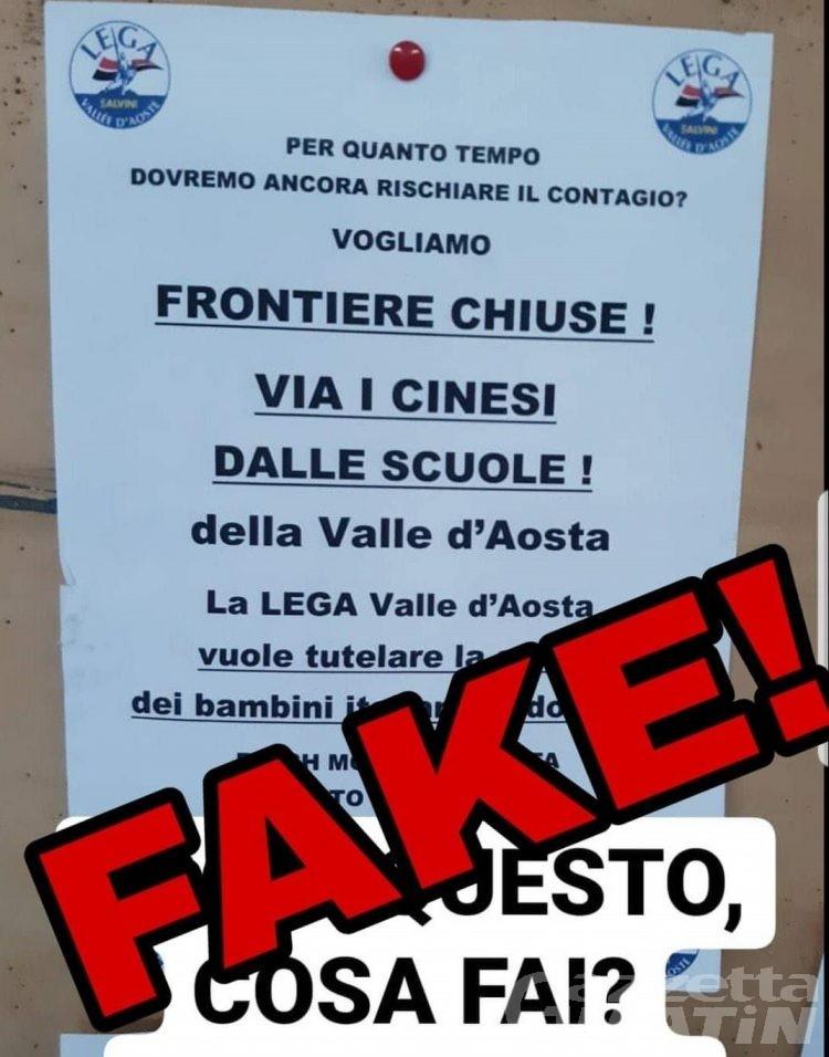 «Via i cinesi dalle scuole!»: ma la Lega prende le distanze dal manifesto fake e querela