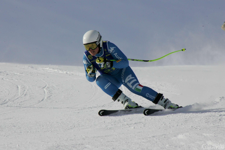 Sci alpino: Héloïse Edifizi sfiora il podio a Cortina d'Ampezzo
