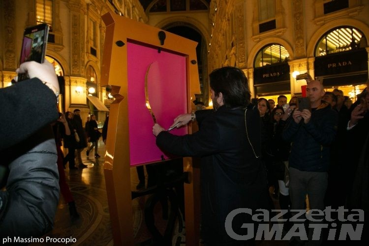 Arte in quarantena: Gabriele Maquignaz protagonista su Tgcom24