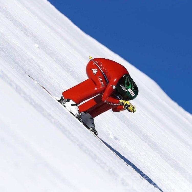 Sci di velocità, Simone Origone vince nella bufera di Vars