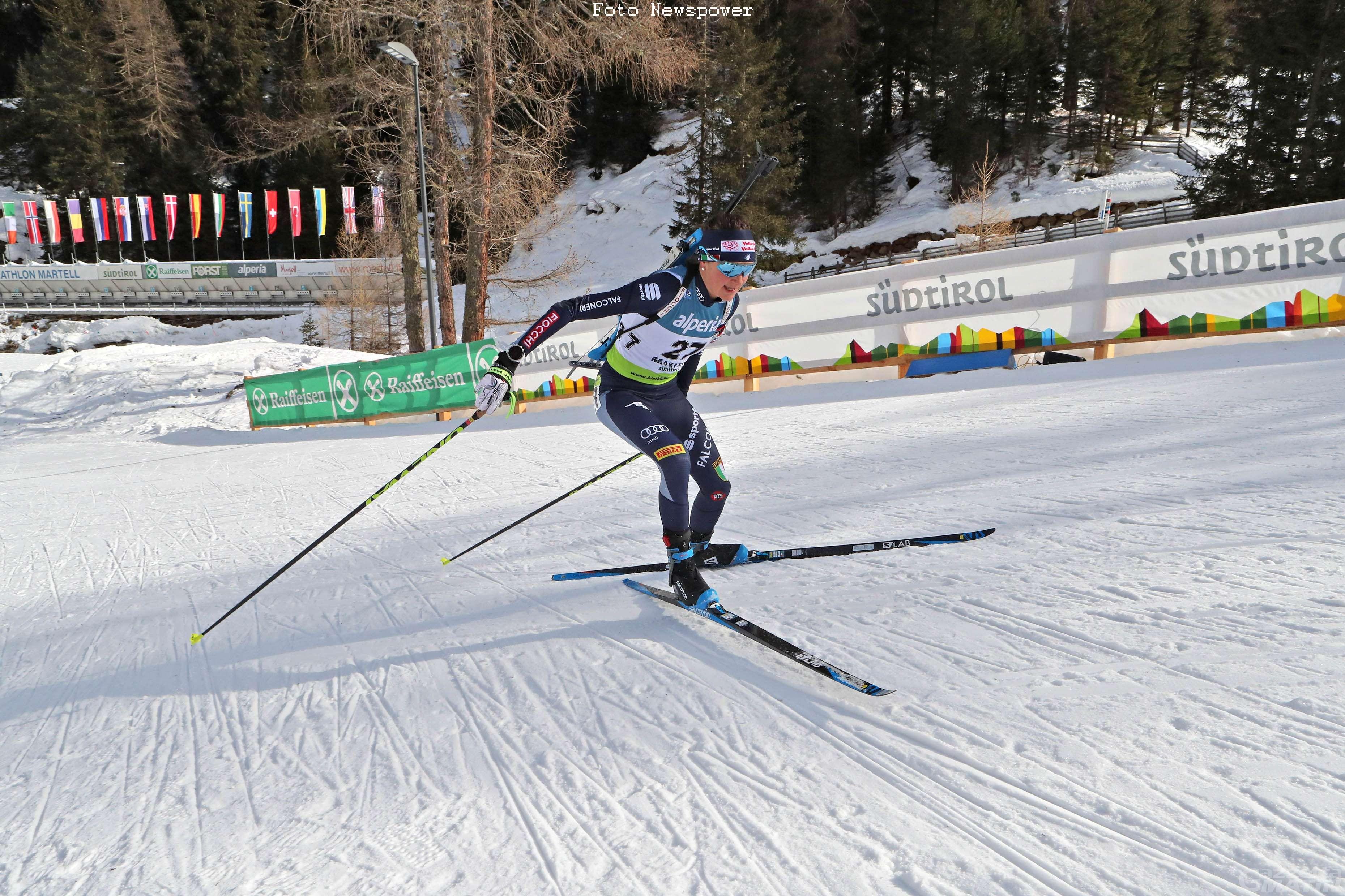 Biathlon: Nicole Gontier 56ª e Michela Carrara 69ª ad Anterselva