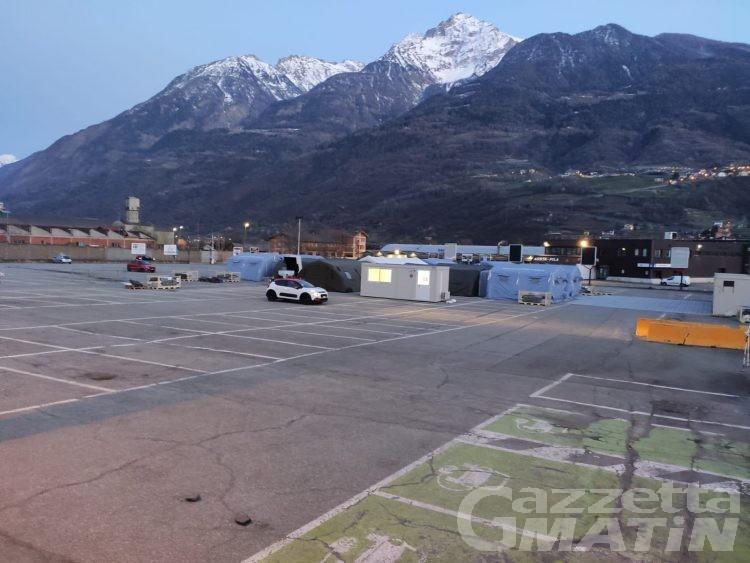 Coronavirus: in arrivo un ospedale da campo ad Aosta