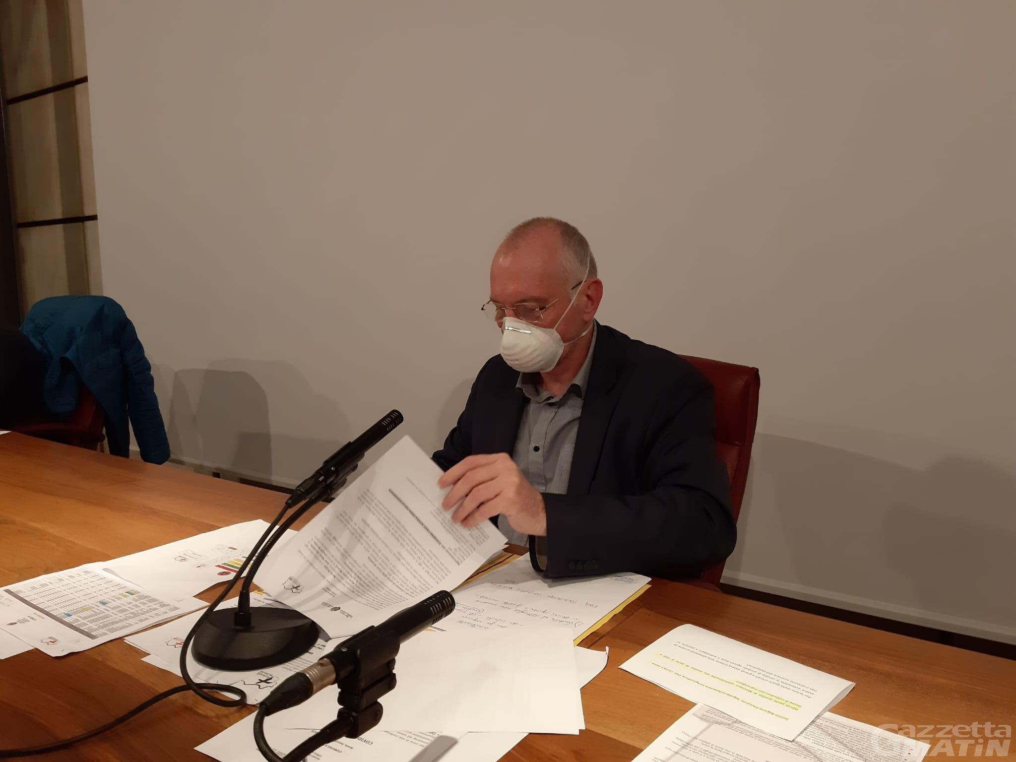 Coronavirus, Renzo Testolin ribadisce: «No al commissario straordinario»