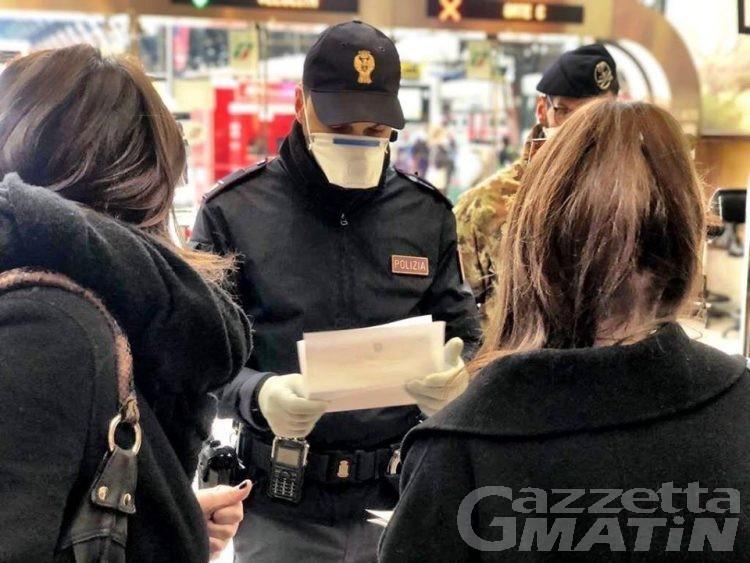 Saint-Christophe: festa danzante non consentita con 150 partecipanti, ubriaco aggredisce poliziotto