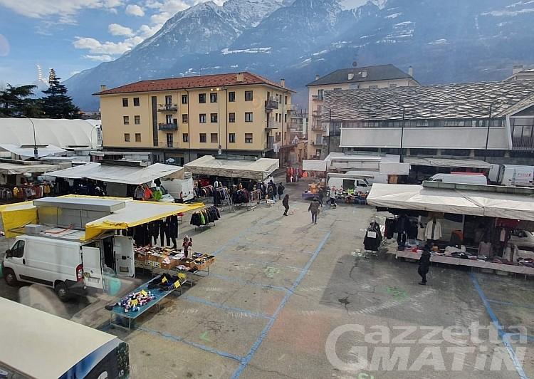 Coronavirus: ripartono i mercati ad Aosta, solo per i generi alimentari