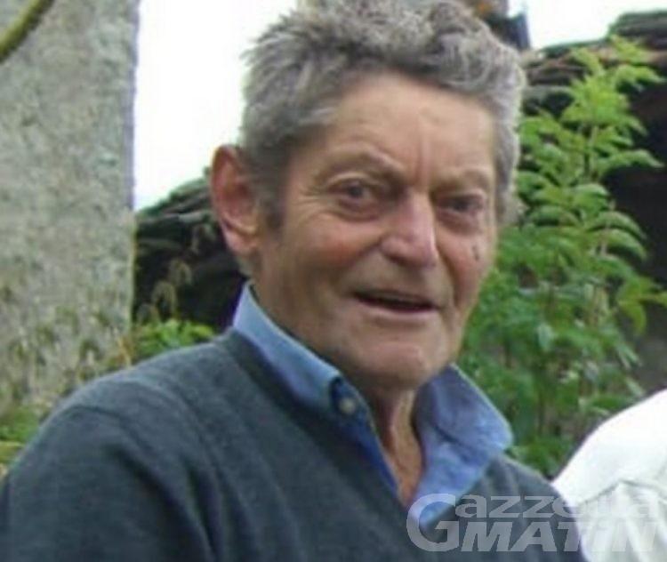 Lutto: Valtournenche piange Camillo Barmasse