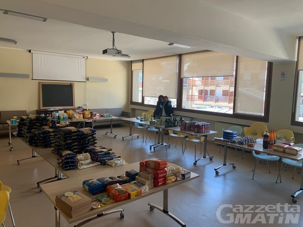 Courmayeur, carrello solidale: dal 15 aprile ogni mercoledì la consegna di generi alimentari