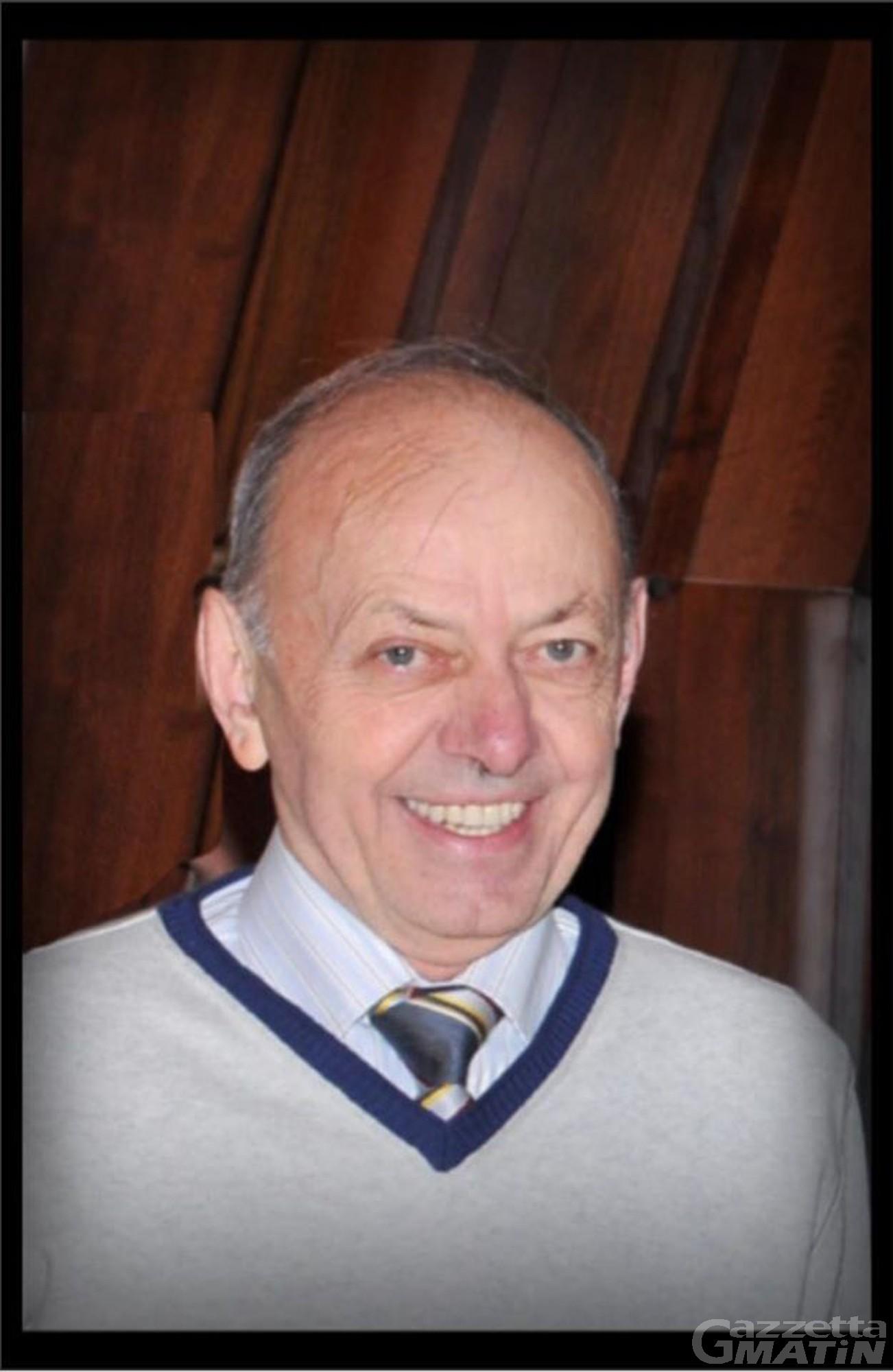 Lutto: la comunità di Arnad piange il geometra Mario Bertolin