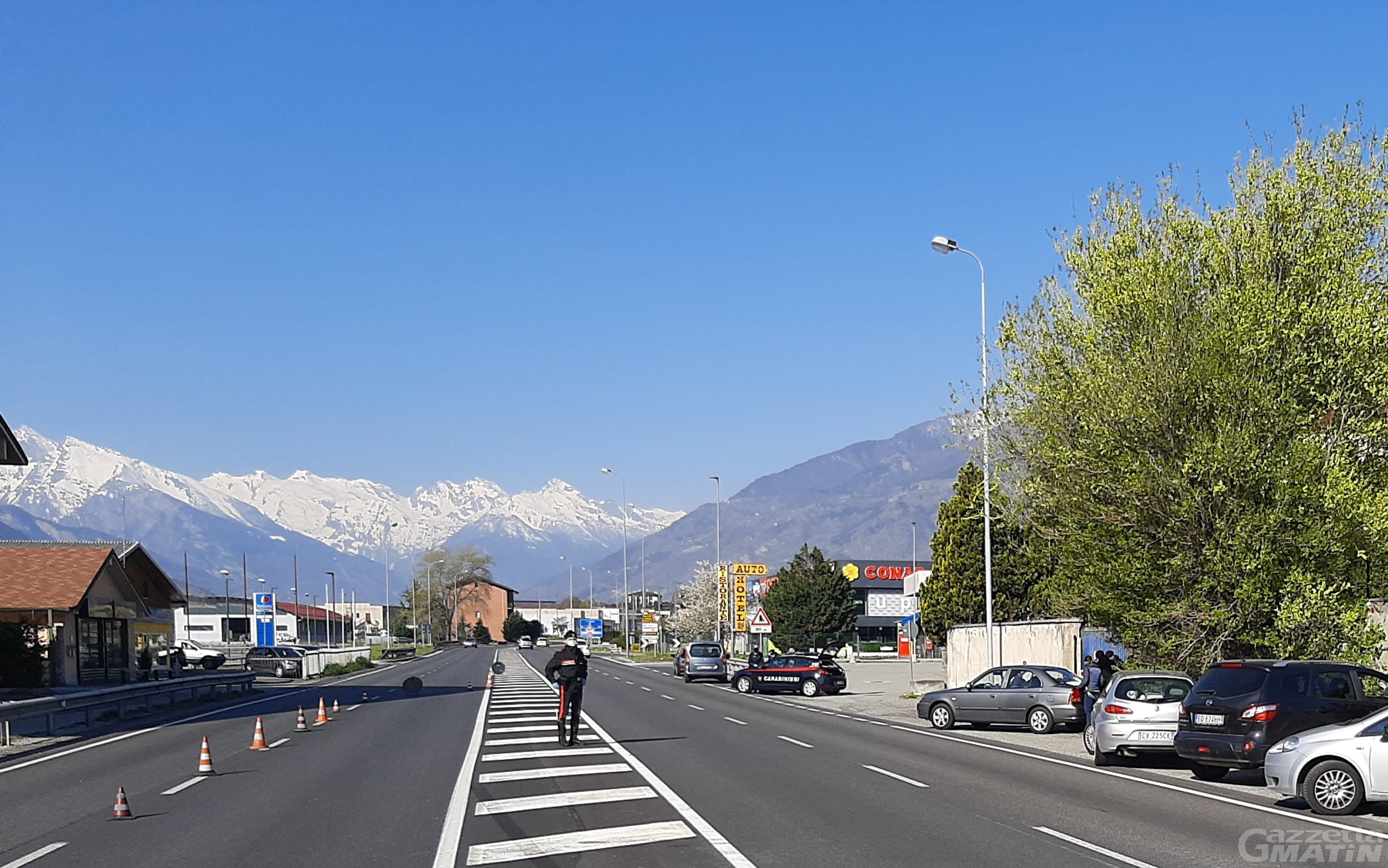 Furbetti delle seconde case: gli accessi alla Valle d'Aosta saranno controllati 24 ore su 24