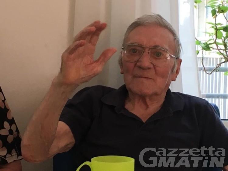 Lutto, Courmayeur saluta l'alpino Gino Mareliati