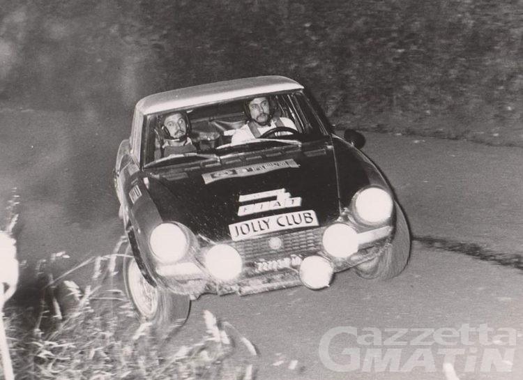 Lutto: Quart piange il rallysta e rivenditore di auto Alberto Zoso