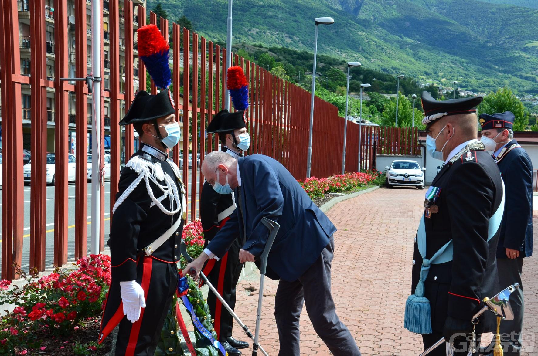 Carabinieri: in Valle d'Aosta nel 2019 furti in appartamenti e negozi calati del 32%