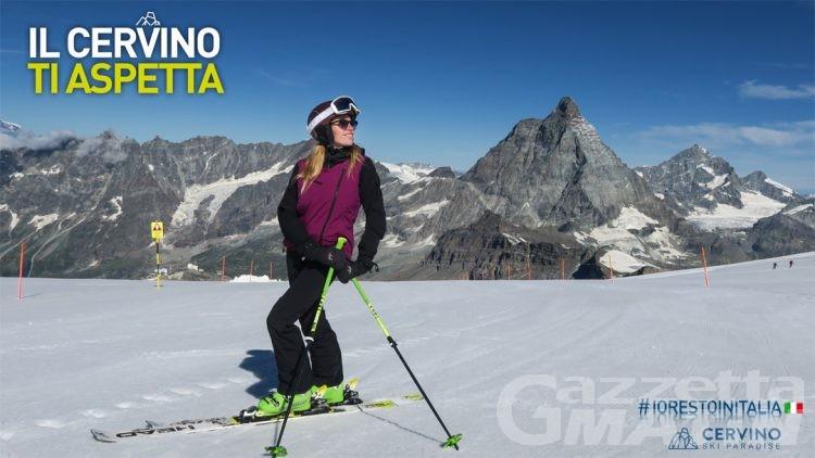 Breuil-Cervinia: impianti e sci estivo riapriranno il 20 giugno