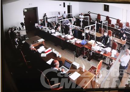 Processo Geenna: l'Accusa rinuncia alle repliche, sentenza mercoledì 16