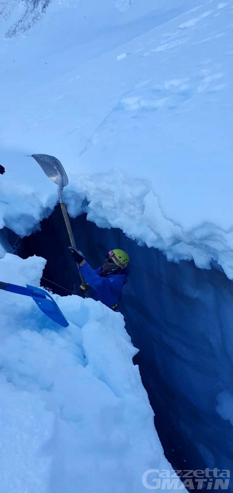Gran Paradiso, recuperato il corpo senza vita del giovane alpinista Daniele Catorci