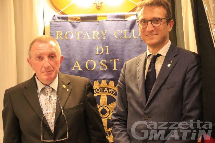 E' Fabio Avezzano il nuovo presidente del Rotary Club Aosta