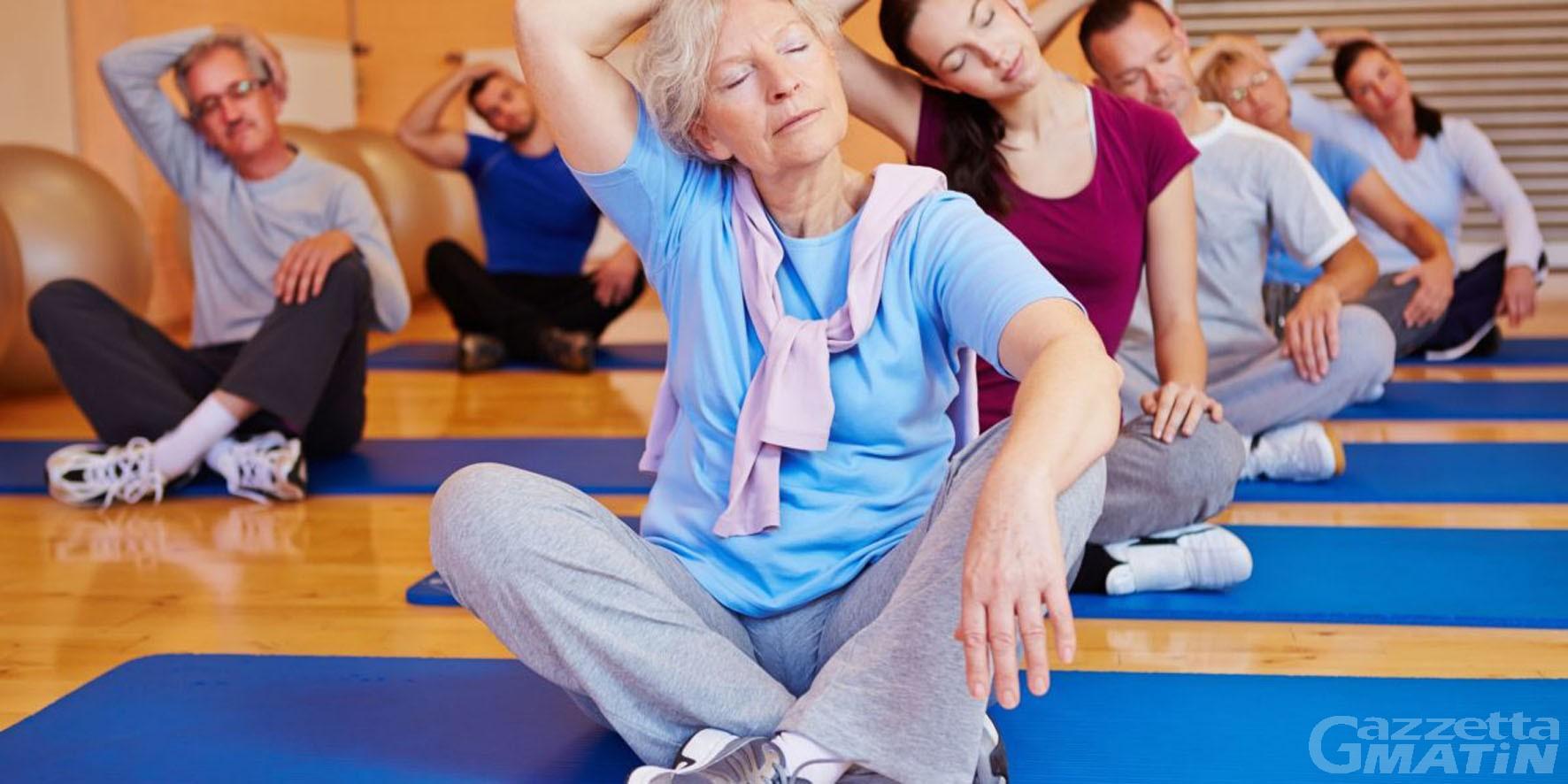 Anziani: ad Aosta ripartono i corsi comunali di ginnastica