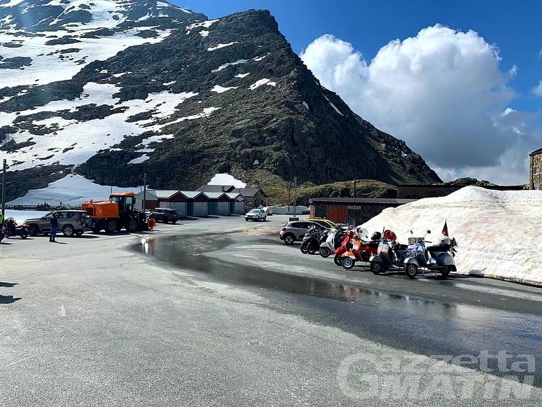 Viabilità: riaperto il Colle del Gran San Bernardo chiuso ieri per neve