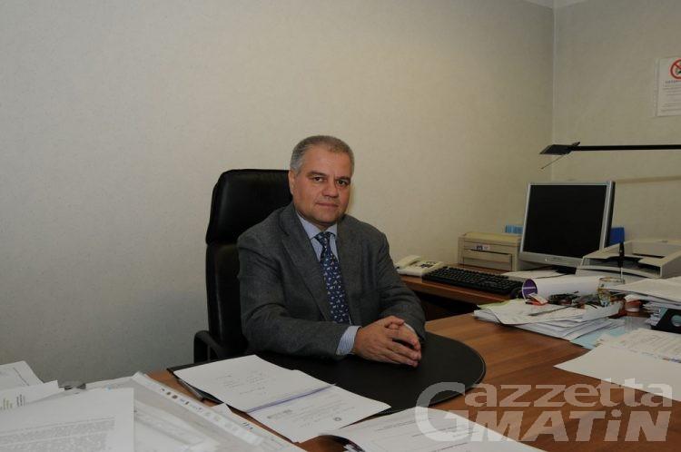 Il dottor Maurizio Castelli direttore sanitario Azienda Usl Valle d'Aosta