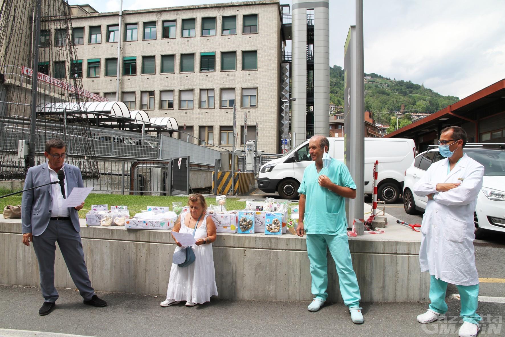 Coronavirus: operazione Grazie con il cuore per ringraziare i sanitari