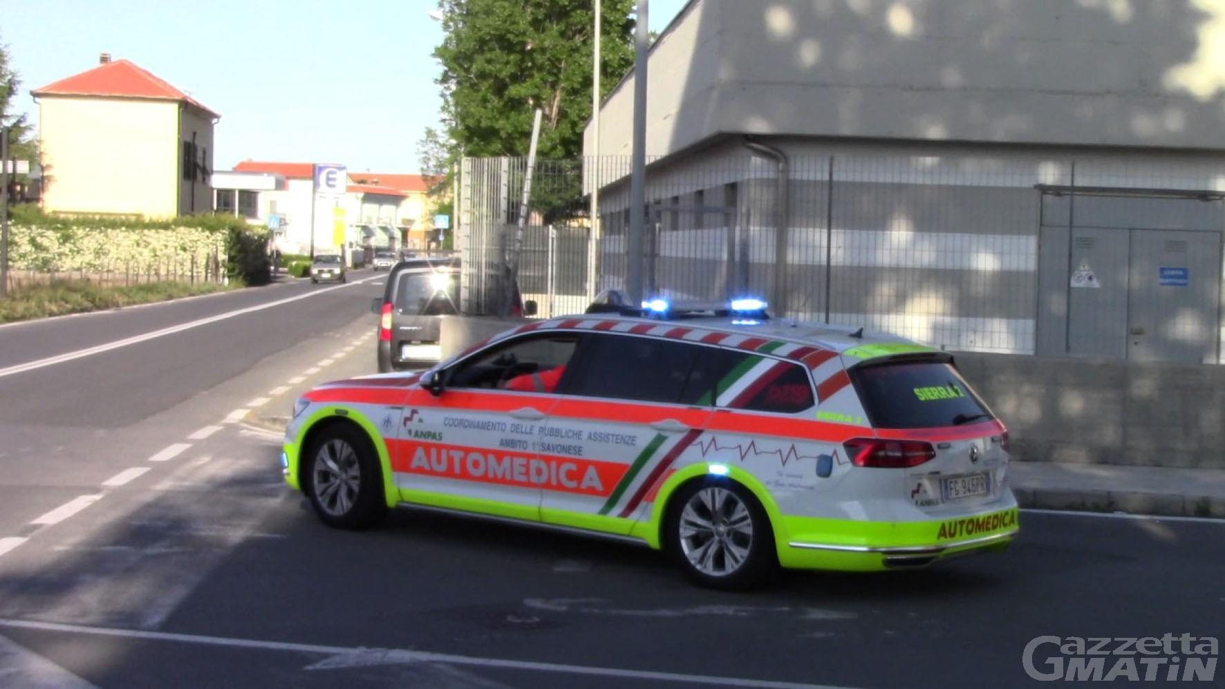 Incidenti stradali: bici contro auto, nel savonese muore un 75enne di Aosta
