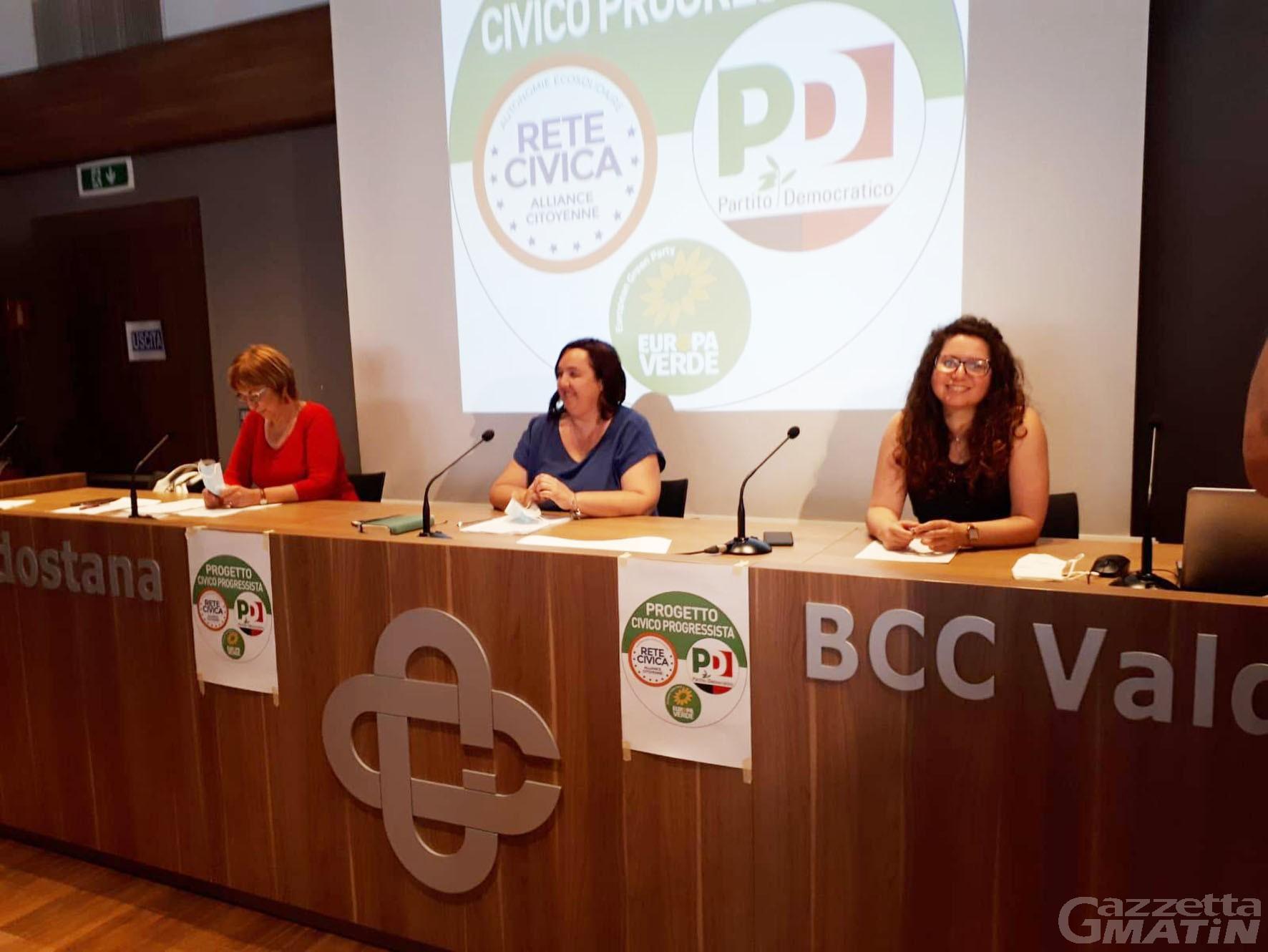 Elezioni, Progetto civico progressista in campo «contro populisti e sovranisti»