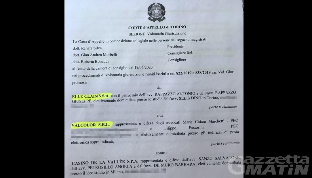 Terremoto Casinò: ecco le motivazioni della revoca del concordato, «il decreto è invalido»