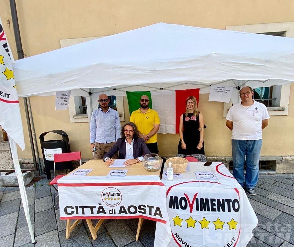 Comunali Aosta: escluse le liste di M5S e Stella Alpina, che presentano ricorso