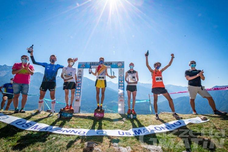 Corsa in montagna: Aymonod fa doppietta a Malonno