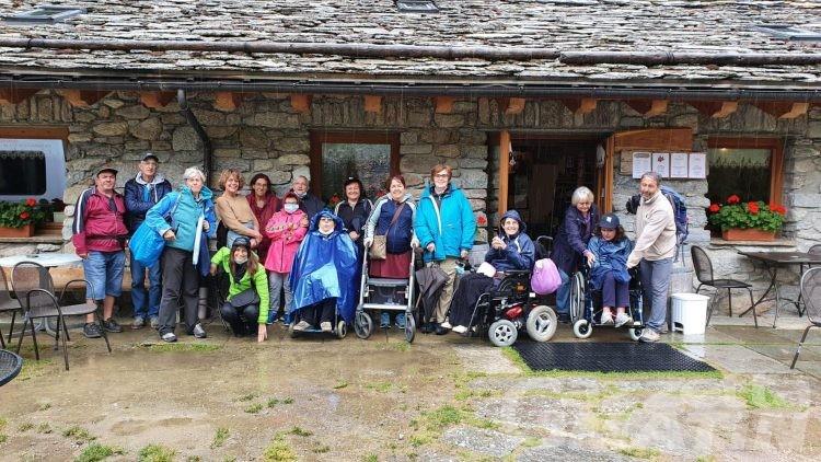 Sociale: il rifugio Tétras Lyre di Valsavarenche tende una mano all'Aism