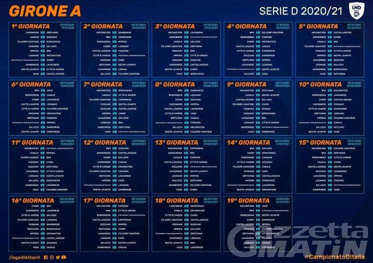 Calcio: il P.D.H.A.E. esordirà in serie D ospitando il Chieri
